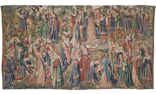 La colección de tapices de la seu vella de Lleida