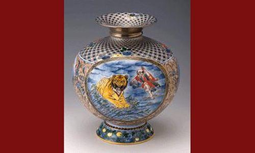 'La sublimación del platino en la moderna cerámica imari: el trabajo de ichiyo yamamoto', museo nacional de cerámica y artes sun