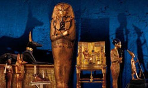 'Tutankhamón: la tumba y sus tesoros', pabellón xii, casa de campo, Madrid