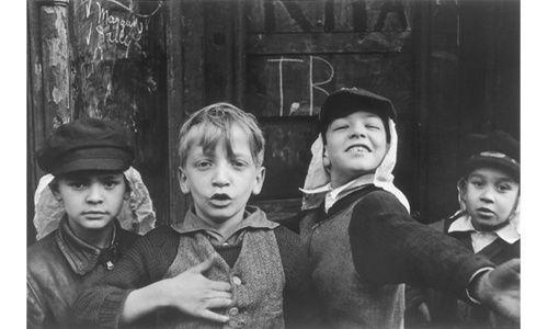 'Helen levitt. lírica urbana. fotografías 1936-1993', museo colecciones ico, Madrid