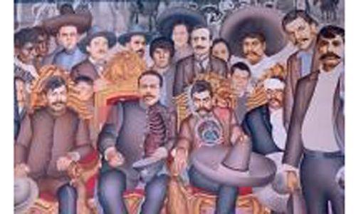 'Zapata en Morelos', museo nacional de historia Castillo de Chapultepec, Ciudad de México