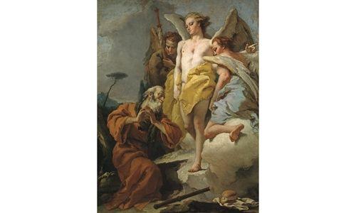 Una obra. un artista: 'Abraham y los tres ángeles', museo del prado, Madrid