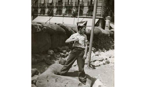 'Gerda taro / this is war! robert capa at work'. círculo de bellas artes, Madrid