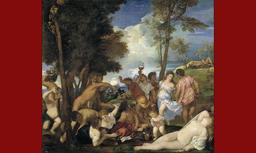 Una obra. un artista: 'La bacanal de los andrios', museo del prado, Madrid