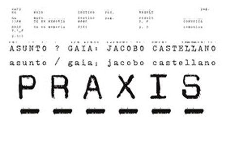 Praxis: 'Jacobo castellano. el mantel y el telón', artium, vitoria