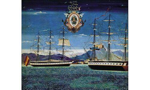 'Miradas. hacia el paraíso. un diálogo con el arte gallego y la vanguardia', sede fundación caixa galicia a coruña