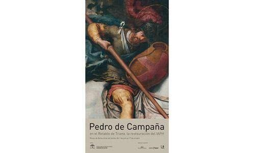 'Pedro de campaña en el retablo de triana, la restauración del instituto andaluz de patrimonio histórico', museo de bellas artes
