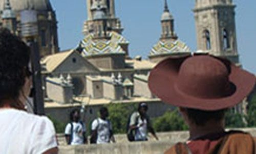 Visita dinamizada 'Ruta jacobea', Zaragoza