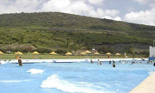 Parque acuático corral grande, jamay (jalisco)