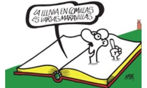 'El Español con humor', sala de exposiciones del seminario mayor, Comillas (Cantabria)