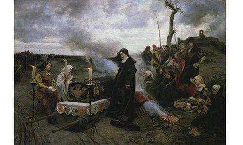 Una obra. un artista: 'Doña juana la loca', museo del prado, Madrid