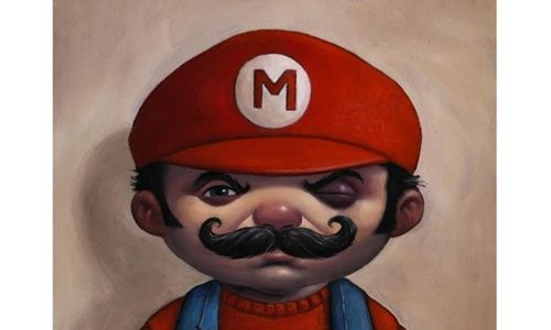 'Once upon a time super mario', matadero Madrid