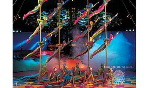 'Saltimbanco', el cirque du soleil de gira por españa.