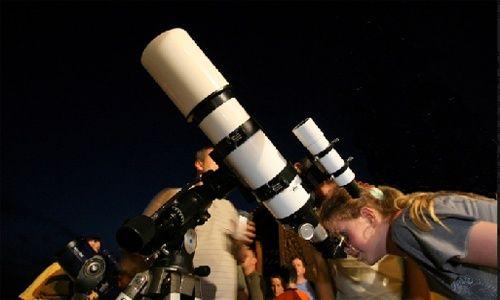 Observación astronómica: la estrella más brillante, Cosmocaixa Madrid