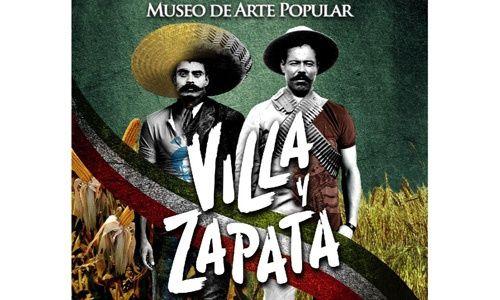 'Villa y zapata. una iconografía revolucionaria', museo de arte popular, Ciudad de México