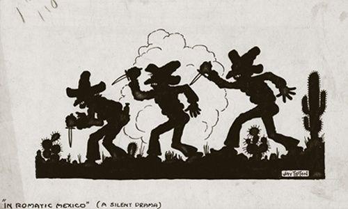 'La revolución mexicana en el espejo de la caricatura estadounidense', museo de arte carrillo gil, Ciudad de México