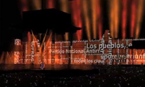 'Yo, México', Zócalo de la Ciudad de México