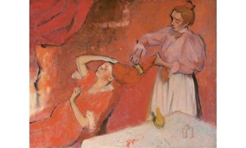 'Picasso ante degas', museo picasso de Barcelona