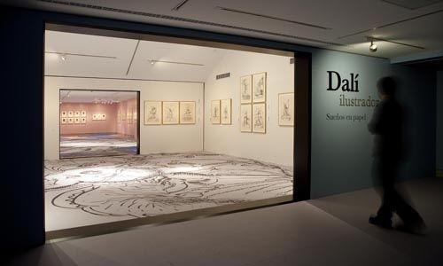 'Dalí ilustrador. sueños en papel', fundación canal, Madrid