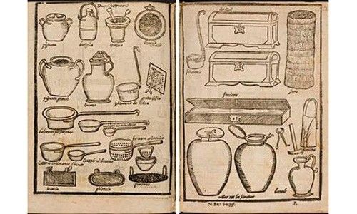 'La cocina en su tinta', biblioteca nacional, Madrid
