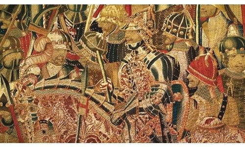 'Las hazañas de un rey. tapices flamencos del siglo xv en la colegiata de pastrana'. Museo de santa cruz, toledo