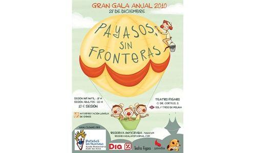 Gran gala de payasos sin fronteras 2010, teatro fígaro-adolfo marsillach, Madrid