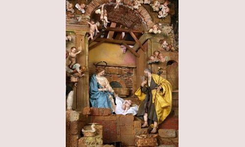 'Visita al belén napolitano', museo nacional colegio de san gregorio, valladolid