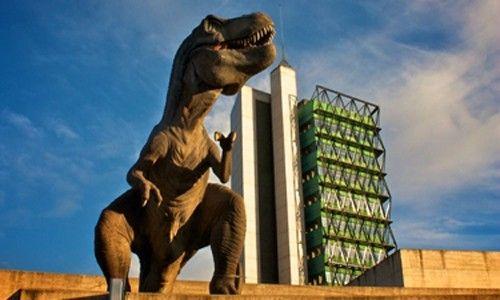 'Parque dinosaurio', museo de la ciencia de valladolid