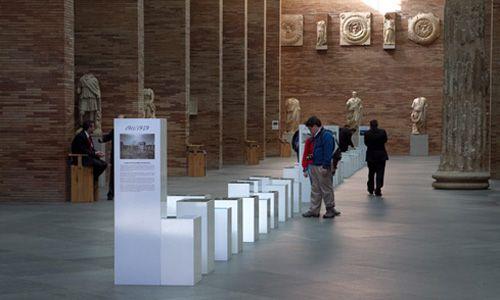 '100 años de arqueología en imágenes'. Museo nacional de arte romano, Mérida (Badajoz)