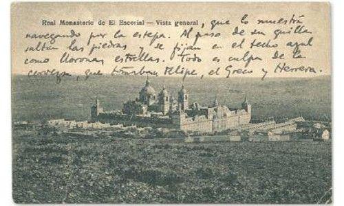 'Geografía postal. las postales de las familias garcía lorca y de los ríos'. espacio para el arte y la cultura de aranjuez