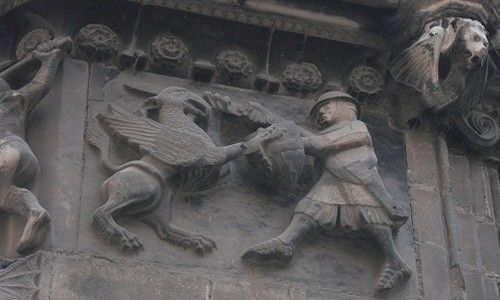 Ruta: 'La Barcelona de los dragones y las gárgolas'. Barcelona