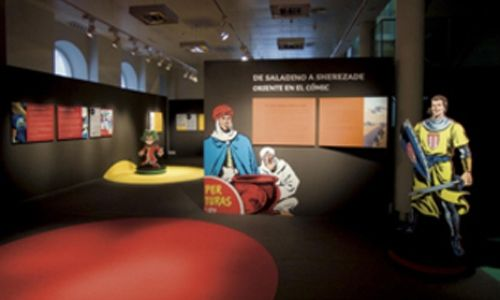 'De saladino a sherezade. oriente en el cómic'. Museo pedagóxico de galicia, santiago de compostela
