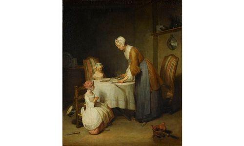'Chardin (1699-1779)'. Museo del prado, Madrid