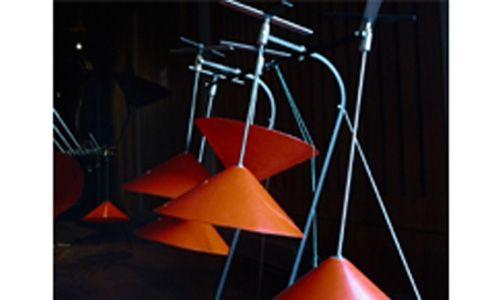 'Esculturas sonoras. los instrumentos baschet'. Museo de la música, Barcelona