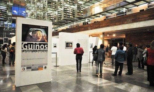 'Guiños'. biblioteca vasconcelos, Ciudad de México