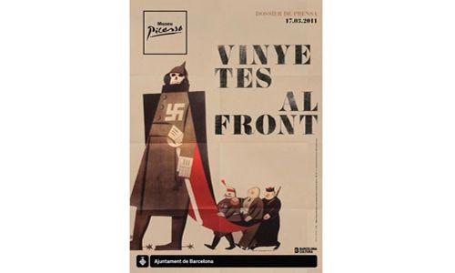 'Viñetas en el frente'. Museo picasso de Barcelona