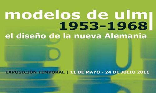 'Modelos de ulm 1953-1968. el diseño de la nueva alemania'. Museo nacional de artes decorativas, Madrid