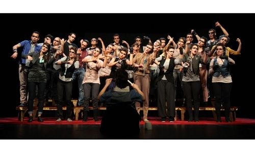 'Operetta'. teatre nacional de catalunya, Barcelona