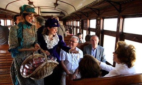 'El tren de la fresa 2011'. Museo del ferrocarril, Madrid