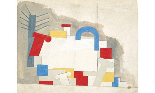 'Willi Baumeister (1889-1955) pinturas y dibujos'. Museu Fundación Juan March de Palma
