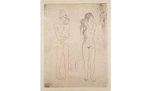 'Picasso: grabados. picasso y el circo'. museu Fundación Juan March de palma