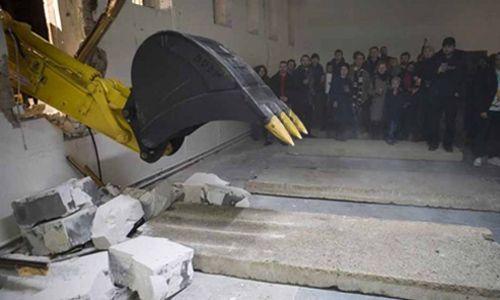 'Enrique ježik. obstruir, destruir, ocultar'. Museo universitario de arte contemporáneo (muac), Ciudad de México