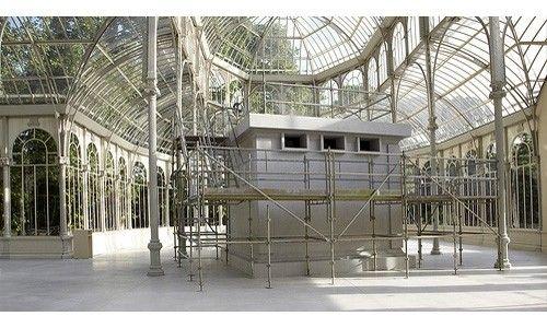 'Continuará'. palacio de cristal, Madrid