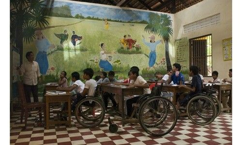 'Camboya. tierra de esperanza'. Caixaforum Palma de Mallorca