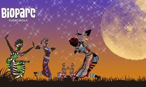'Noches de danzas africanas'. bioparc fuengirola