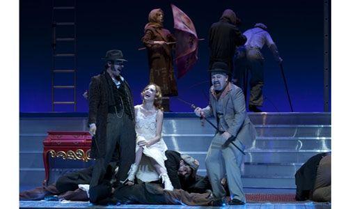 'La ópera de los 3 reales'. Teatro fernán-gómez, Madrid