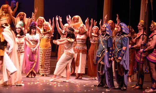 'La corte de faraón'. Teatro compac gran vía, Madrid