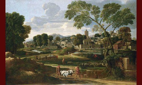 'La roma del xvii a través de sus paisajes'. Museo del prado, Madrid