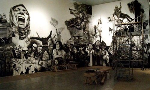 'Entre utopía y distopía. palestra asia'. Museo universitario de arte contemporáneo (muac), Ciudad de México