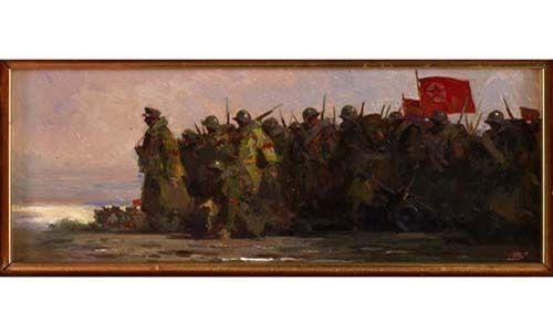 'Bardasano en guerra'. sala santo domingo de la cruz, Salamanca